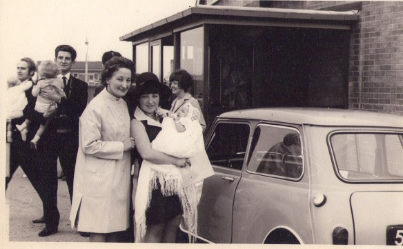 My Nan, Mom and baby me.